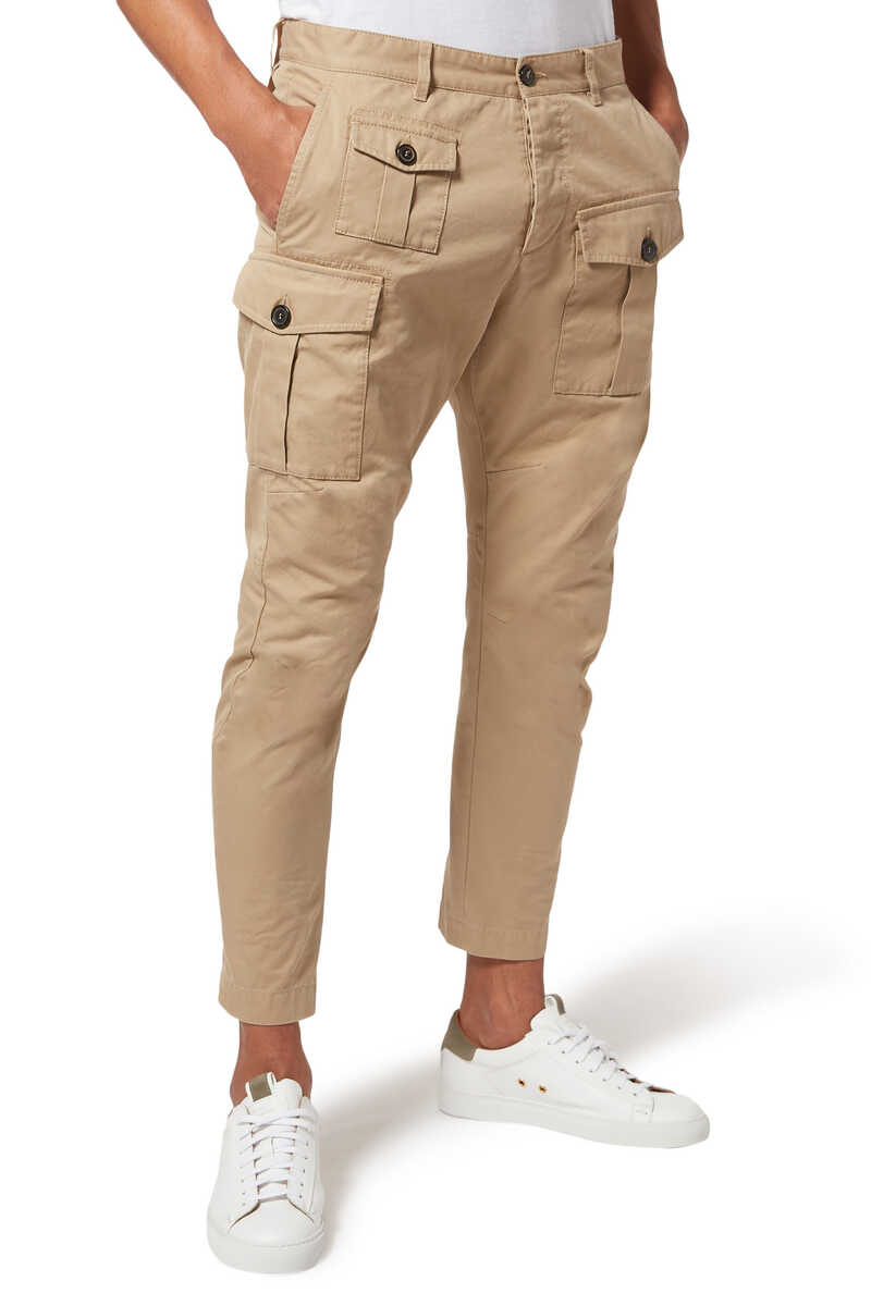 Cargo-Style Pants image number 1