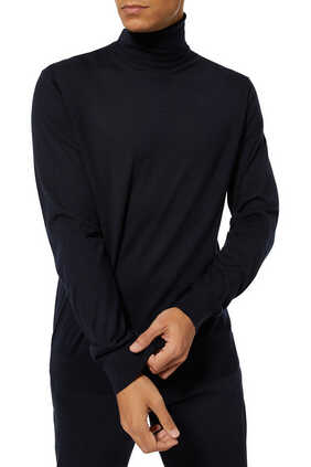 Cashmere And Silk Turtleneck T-Shirt