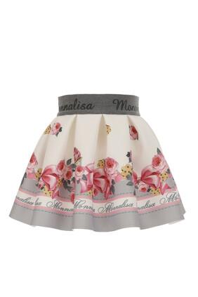 Rose Neoprene Skirt