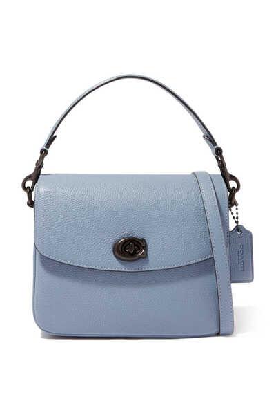 Cassie 19 Pebble Leather Cross-Body Bag