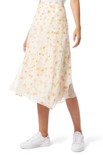 Pressed Petal Panel Skirt