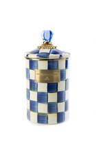 Royal Check Large Canister