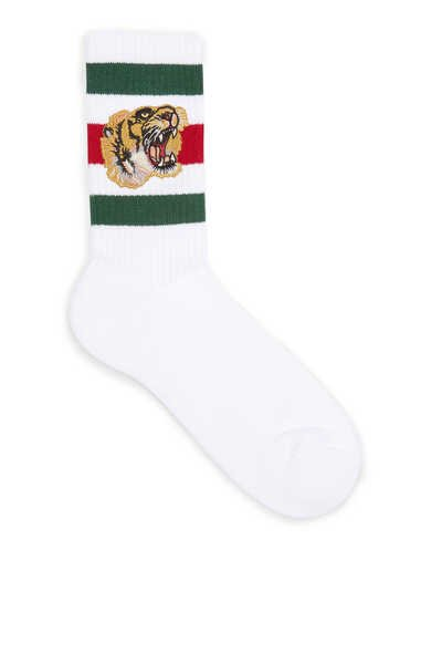 Tiger Stretch Cotton Socks