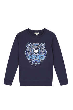 Tiger Cotton Sweatshirt