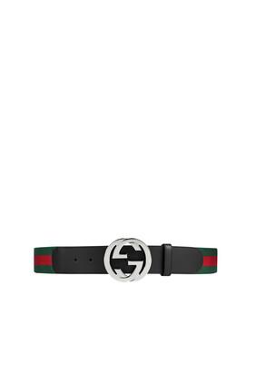 GG Signature Web Belt