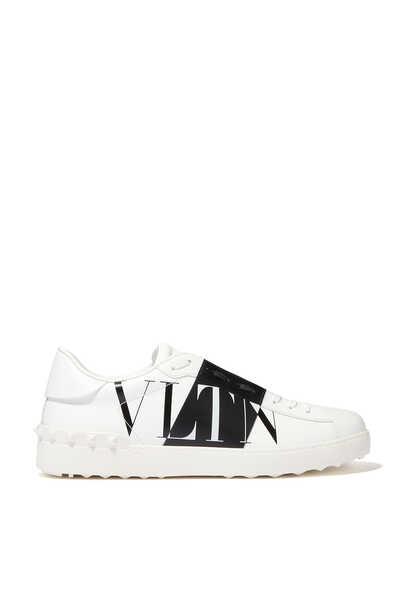 Valentino Garavani Open VLTNSTAR Leather Sneakers