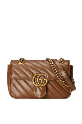 GG Marmont Mini Matelassé Shoulder Bag
