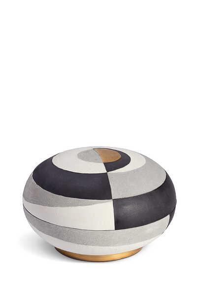 Cubisme Large Round Box