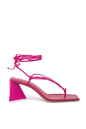 Mona Satin Sandals