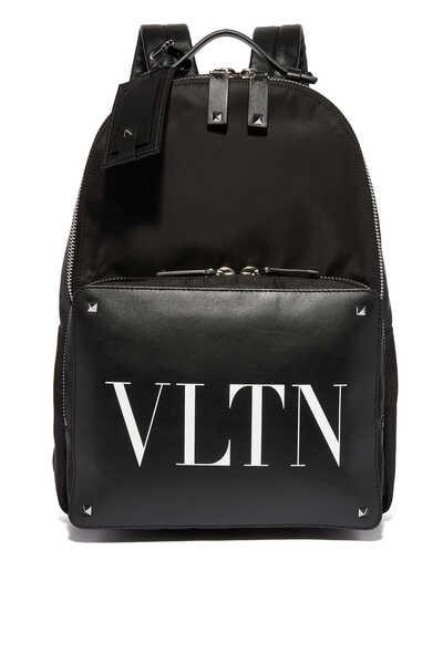 Valentino Garavani Logo Print Backpack