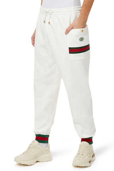 Signature Web Jersey Jogging Pants