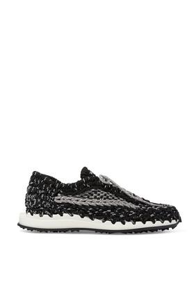 Crochet Sneakers in Fabric