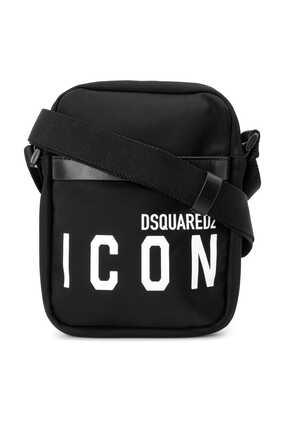 Logo Icon Crossbody Bag