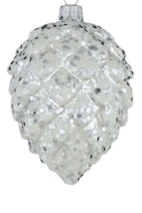 Glass Cone Ornament