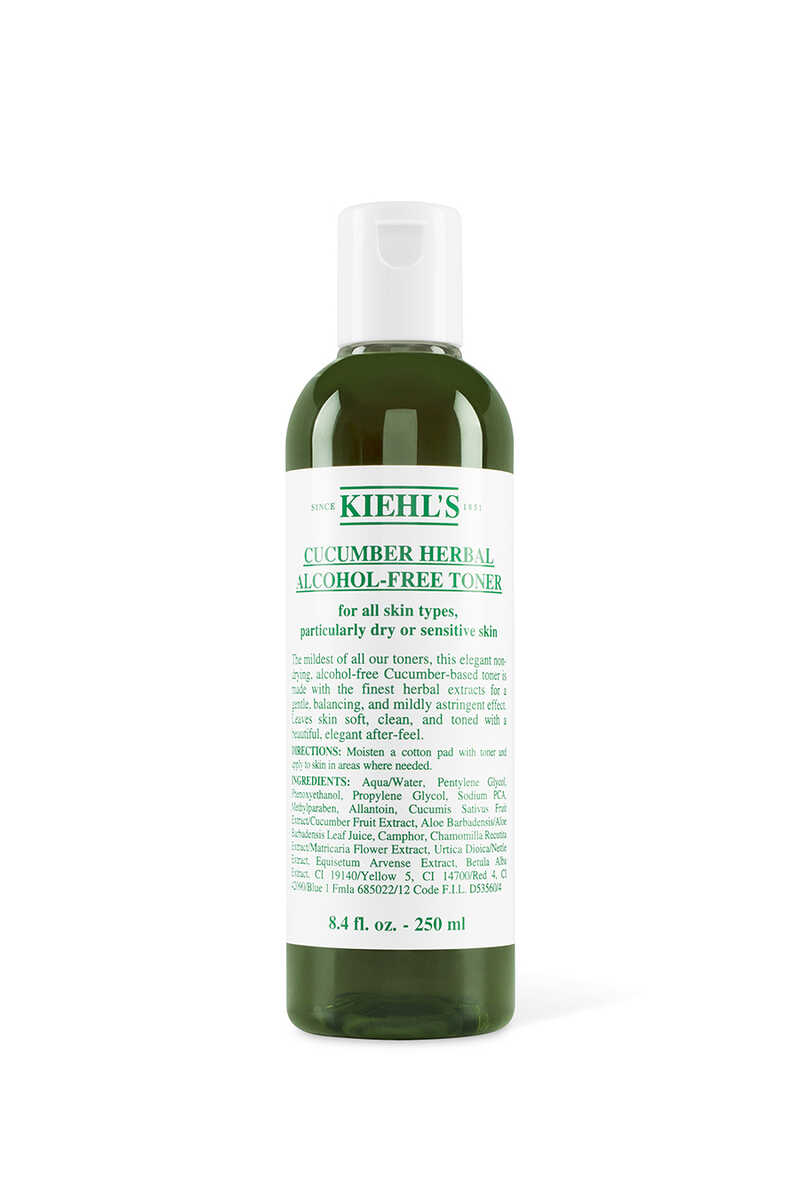 Cucumber Herbal Alcohol-Free Toner image number 1