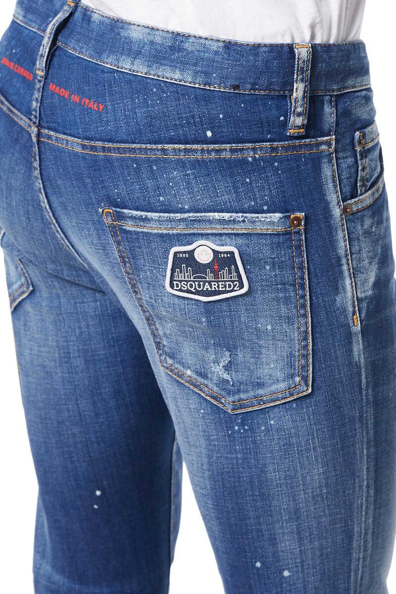 Cool Guy Scar Wash Denim Jeans image number 4