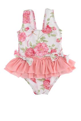 Rose One-Piece Swimsuit