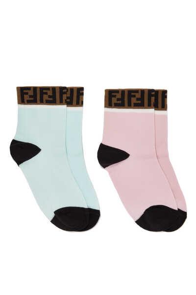 FF Band Cotton Socks, Set of 2