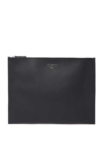 Saffiano Zip Document Holder