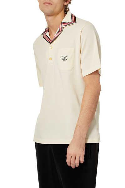 GG Embroidered Polo Shirt