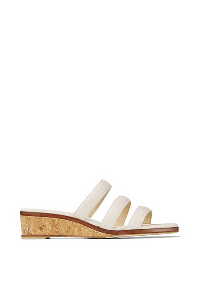 Athenia 35 Leather Wedge Sandals