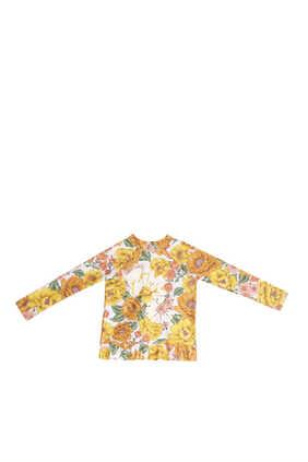 Poppy Frill Rash Vest