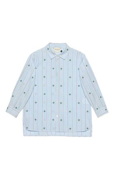 Bee Fil Coupê Cotton Shirt
