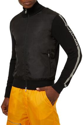 Full Knitted Shell Front Sleeve Logo