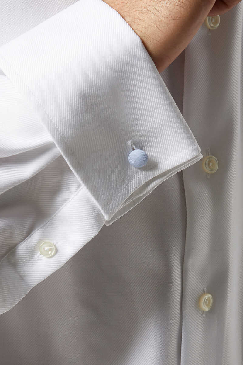 Contemporary Fit Textured Twill Shirt image number 3