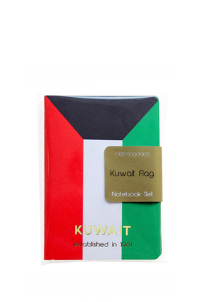 Kuwait Flag Note Pads, Set of Three