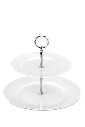 Royal Worcester Serendipity 2-tier Cake Stand