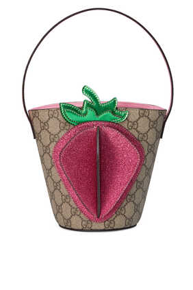 Strawberry Bucket Bag