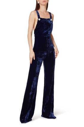 Silk Velvet Jumpsuit