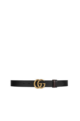 Reversible Belt with Double G Buckle