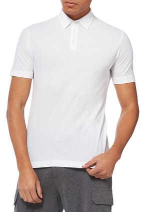 Ice Cotton Polo Shirt