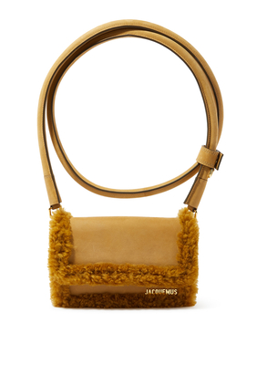 Le Rond Shearling Pochette Bag.