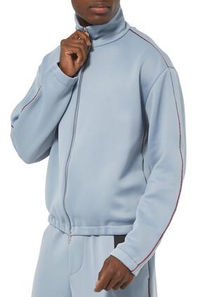 Plain Stripe Track Jacket