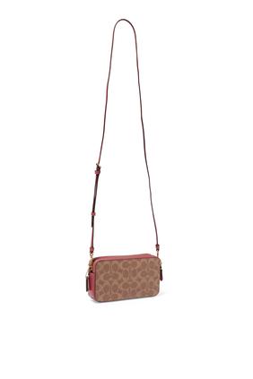 Kira Pebble Canvas Cross-Body Bag