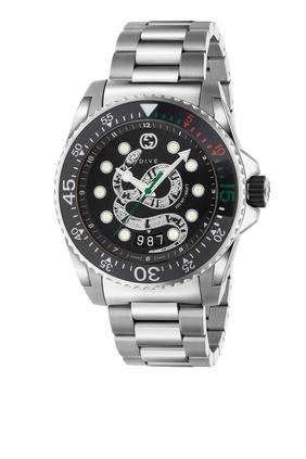 Steel Dive Watch