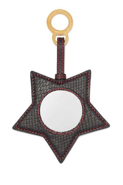 Arabian Star Python Mini Mirror Keychain