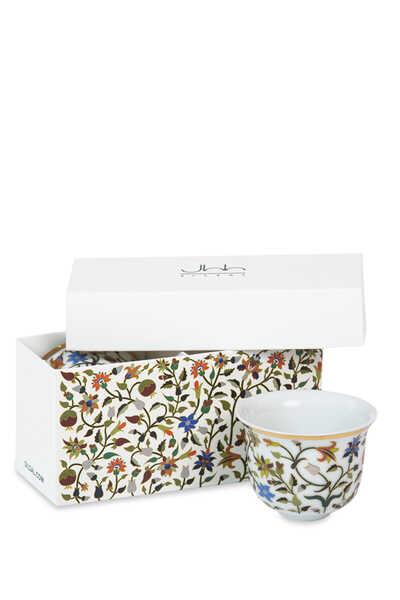 Majestic Arabic Coffee Cups, Set of Two