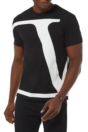 VLogo Signature Cotton T-Shirt