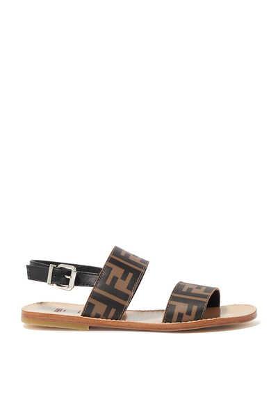 FF Monogram Sandals