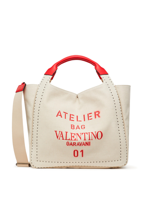 Atelier 01 Metal Stitch Edition Tote Bag
