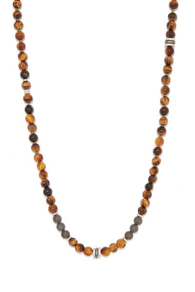 Tiger Eye Formentera Necklace