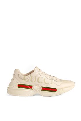 Rhyton Gucci Logo Sneakers