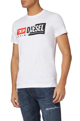 T-Diego-Cuty Dual Logo T-Shirt