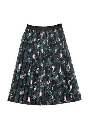 Jungle Print Skirt