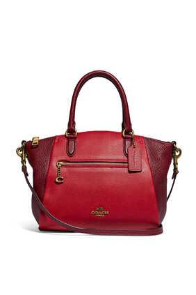 Elise Pebble Leather Satchel
