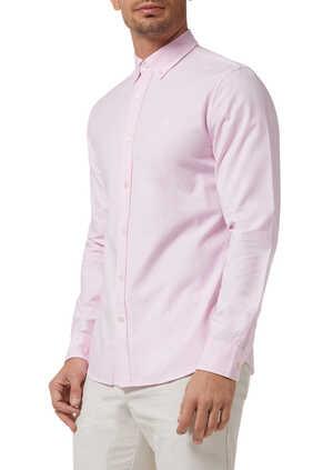 Slim Oxford Logo Shirt